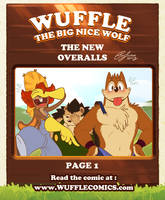 Wuffle Comics : The New Overalls 1/10 by PitiYindee
