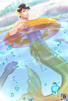 [COM] Merman in the pool by Aryoshka