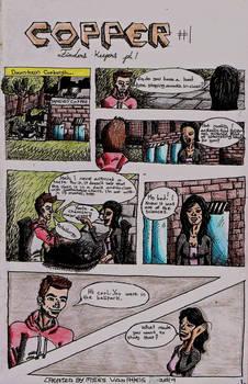 Copper #1 page 1