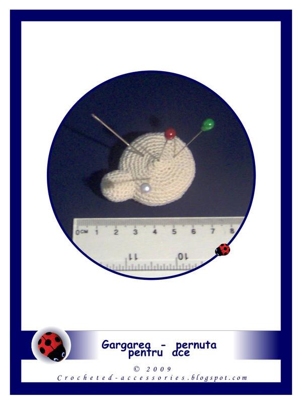 ladybug pincushion by thestoryteller1