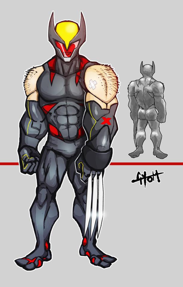 Wolverine: Look Sharp by TetraGyom