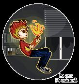 Flame boy by BrassPresident