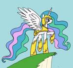 Armoured Princess Celestia