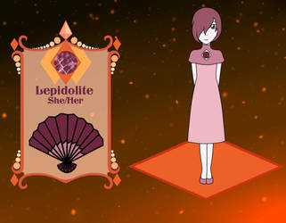 Diamond Legends - Lepidolite Application