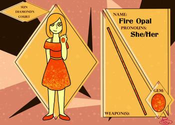 Court of Diamonds - Fire Opal Application