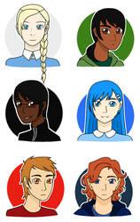 Blue Team Headshots
