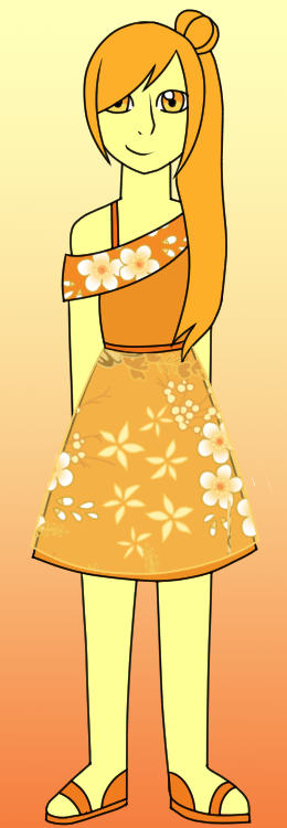 Fire Opal Wedding Outfit