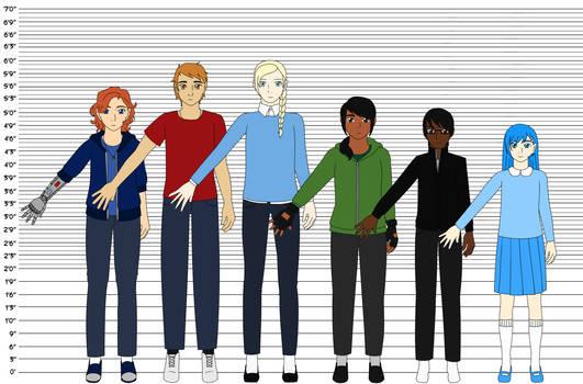 Blue Team Height Chart ver. 2