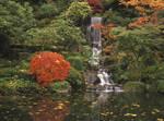 Japanese Garden Falls