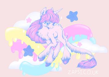 Dreamy Unicorn by Zapsi