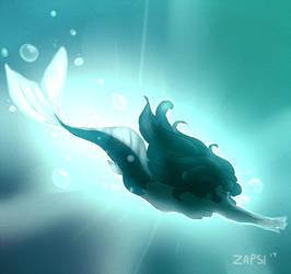 Mermaid Dive by Zapsi