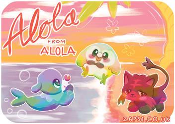 Alola Postcard by Zapsi