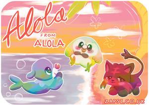 Alola Postcard