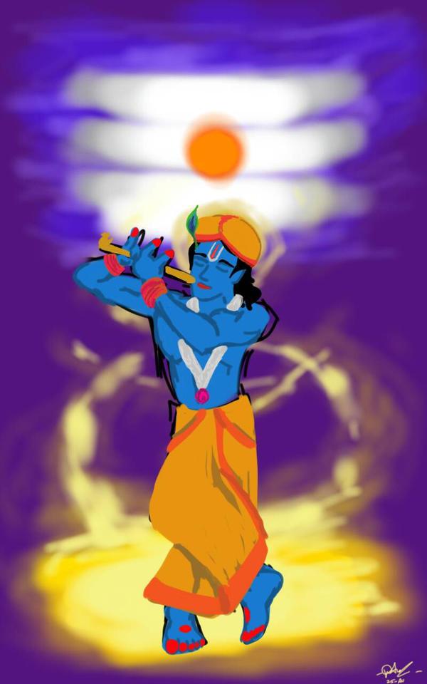 Shiva-Krishna by ASDevaraju