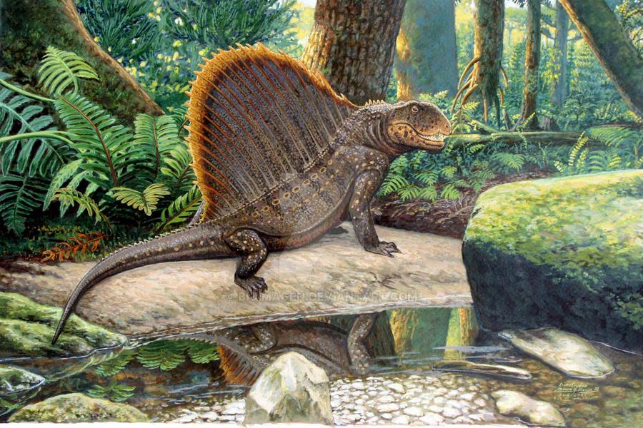 Awesome Paleoart  El_gran_depredador_by_bioimagen-d4888ij