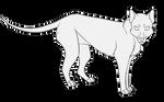 ::F2U:: Thylacine/Tasmanian Tiger Base