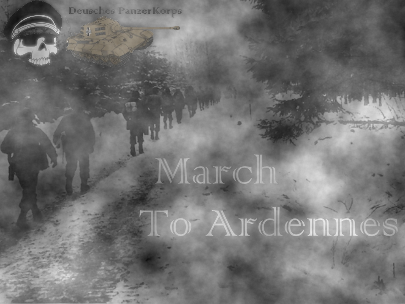March to Ardennes by MarxandMagolor
