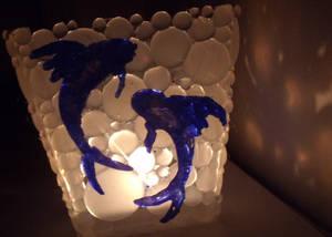 Hot Glue Lantern (Finished)