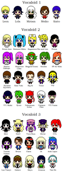 Vocaloid Pixels by Digiatsu