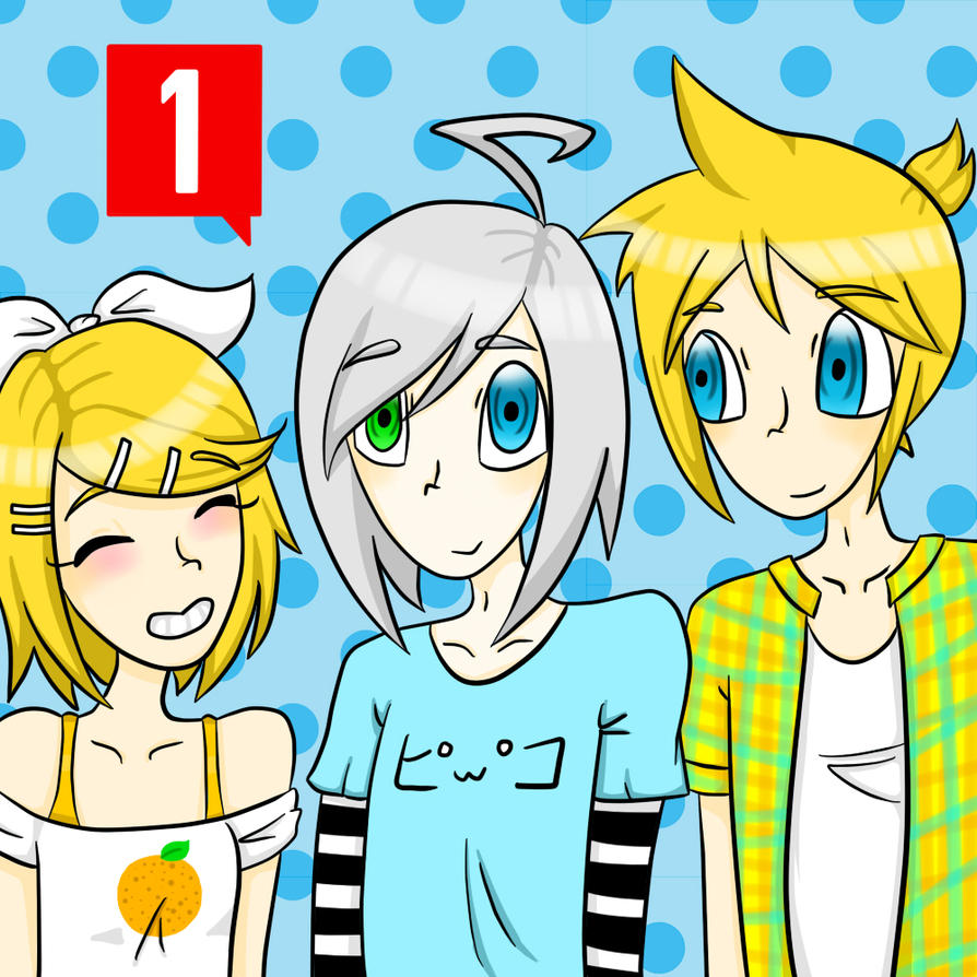Tumblr ask blog: Piko and the Kagamines by Digiatsu