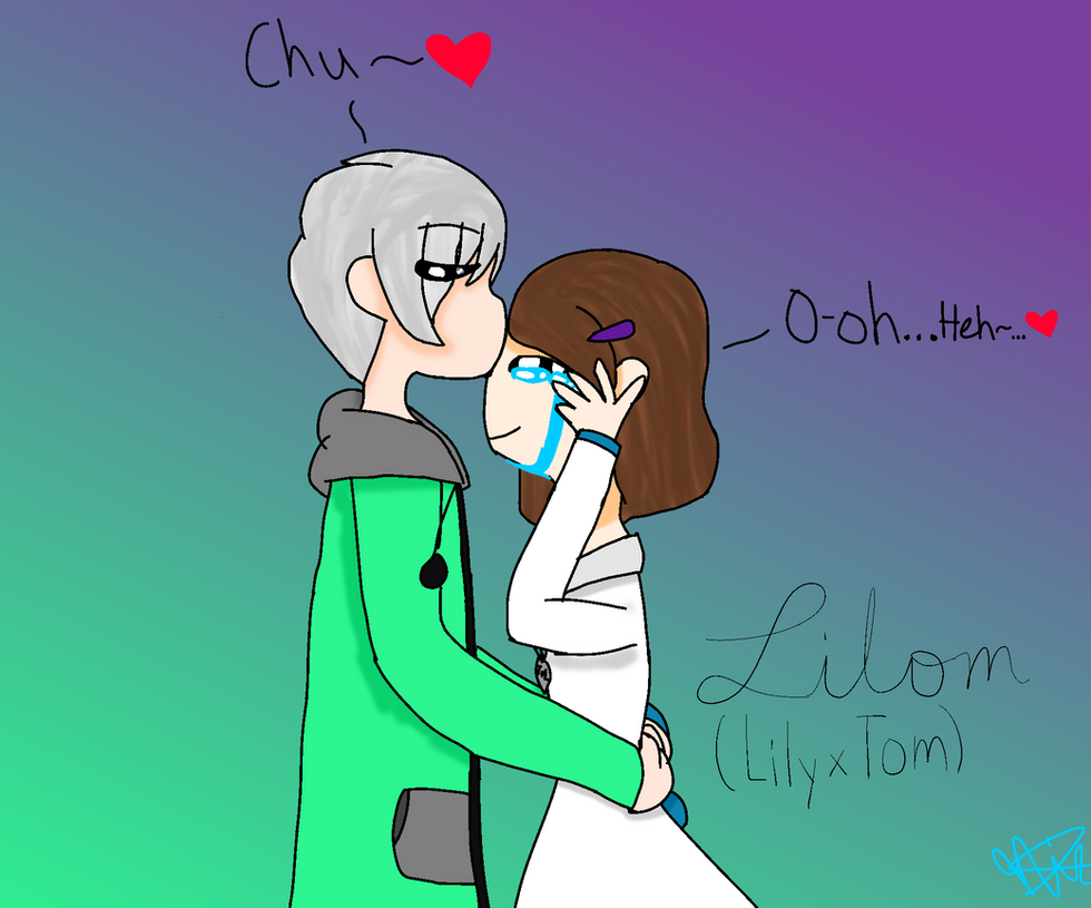 Another Lilom Drawing (Lily x Tom) by jhosenetteRBLX