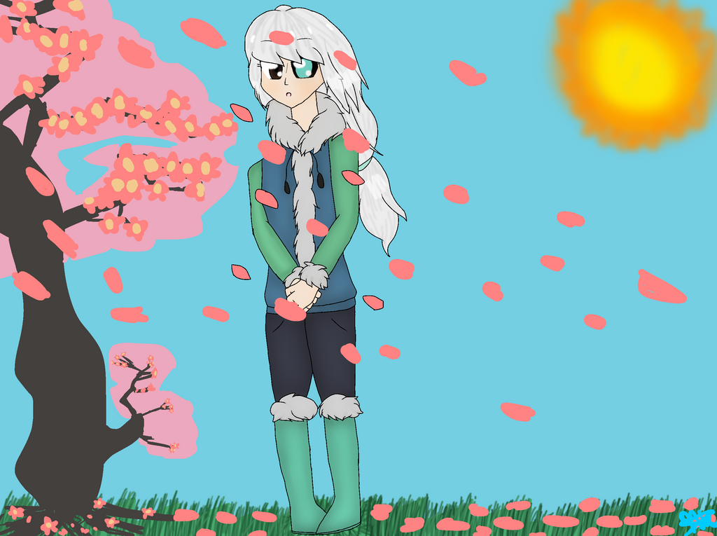 Cherry Blossom Tree (MediBang Paint) by jhosenetteRBLX