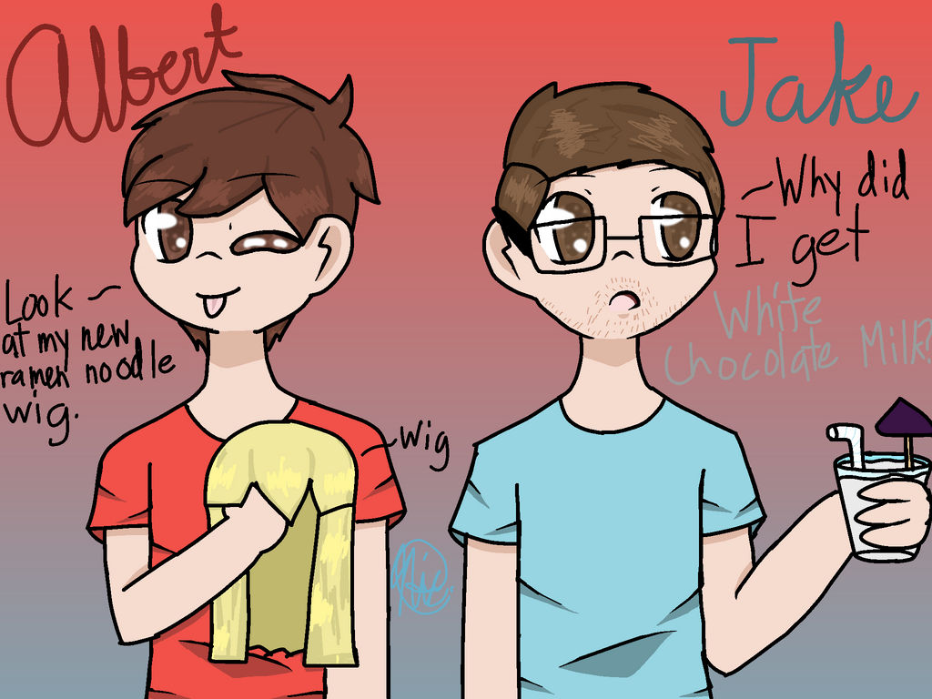 Fanart for AlbertsStuff and Jayingee! (Medibang P) by