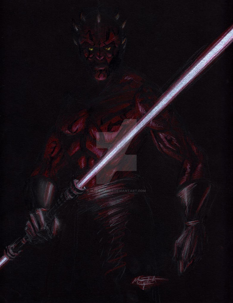 Darth Maul by MJZ-Studios