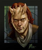 Zabrak Portrait by artbytravis