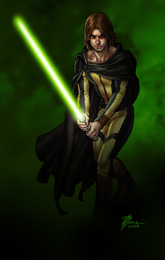 Falling to the Dark Side by artbytravis