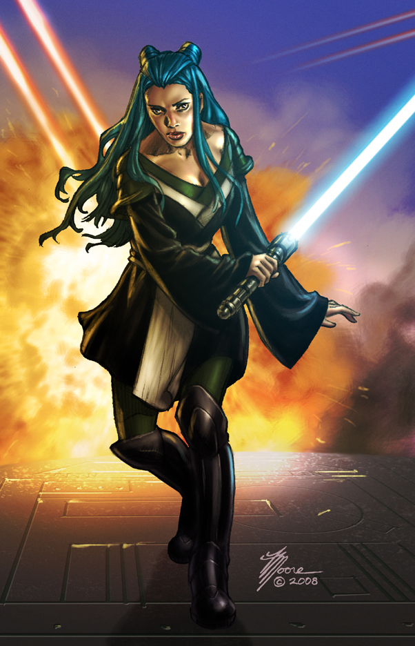 Jedi Adventurer by artbytravis