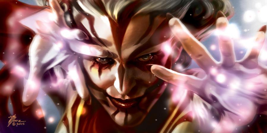 Celia the Sorceress by artbytravis