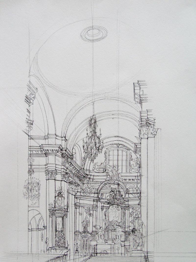 church interior by esper-nza