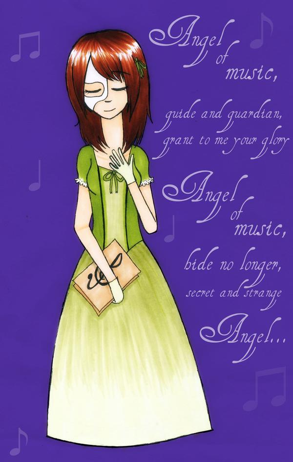 Angel of Music - Lyru by Anti-Tahni