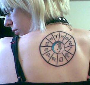 Suki's Second Tattoo: Zodiac by himesuki
