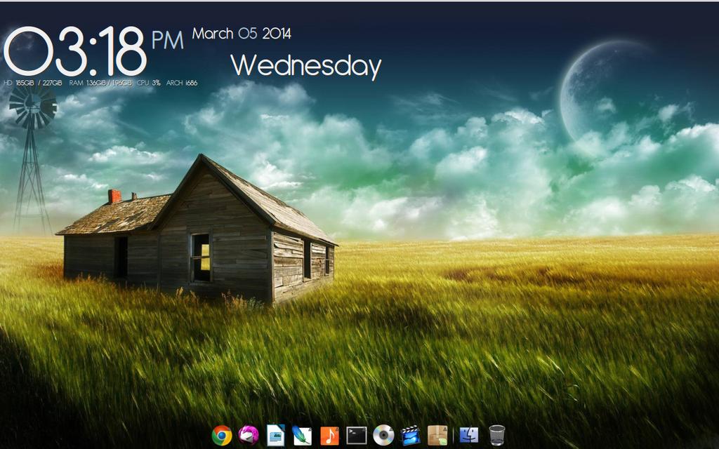 Xfce Desktop w/ Conky