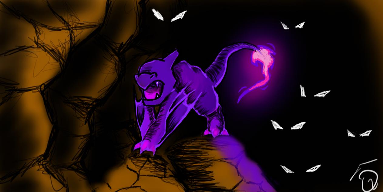 Pokemon Fusion-Zumeleon by sonicblackops