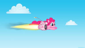 Pinkie Pie on the Fly
