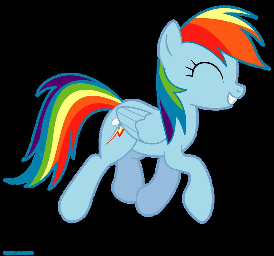 Rainbow Dash Happy Gif