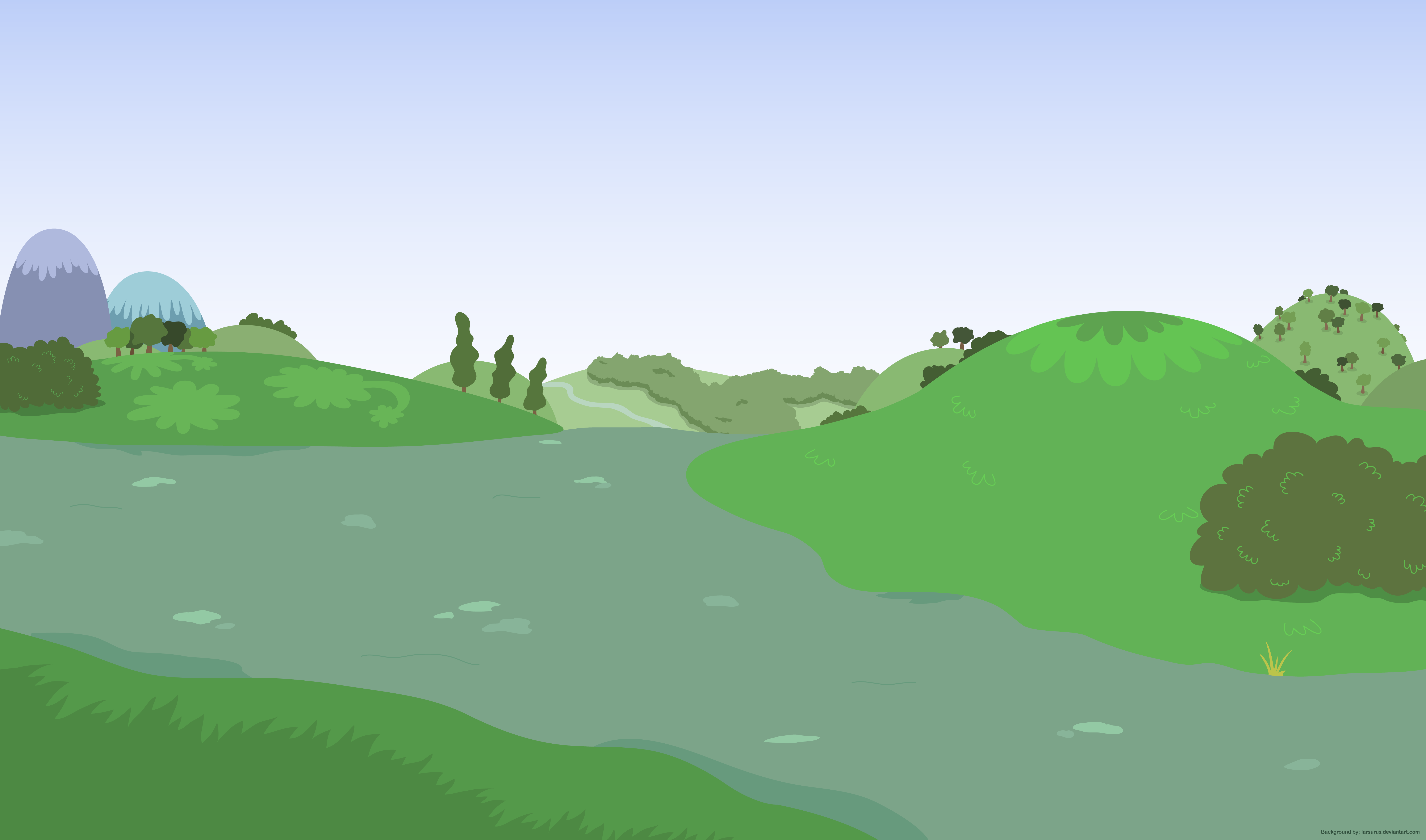 Background without ponies 2 - PNG