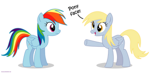 Pony face? - PNG by Larsurus
