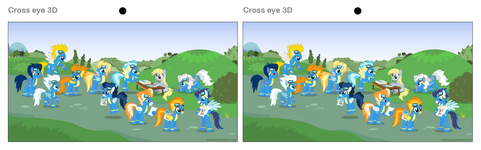 cross eye 3d test by larsurus on deviantart