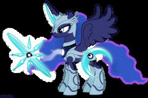 Luna in armor