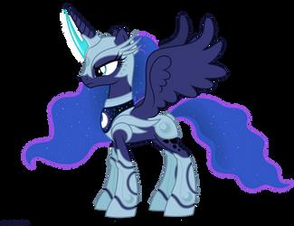 Luna in armor - No weapons