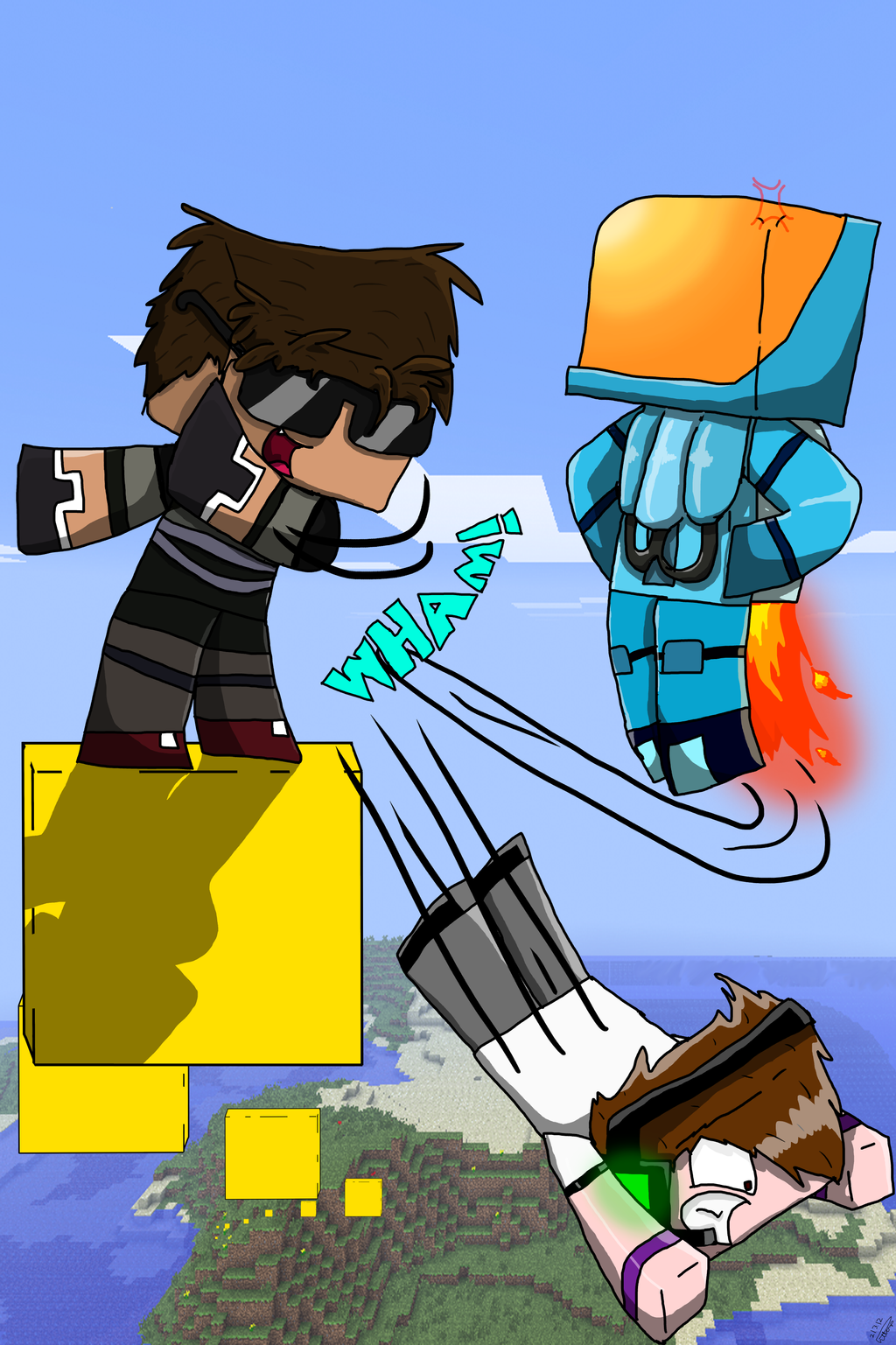 Skydoesminecraft And Deadlox Parkour