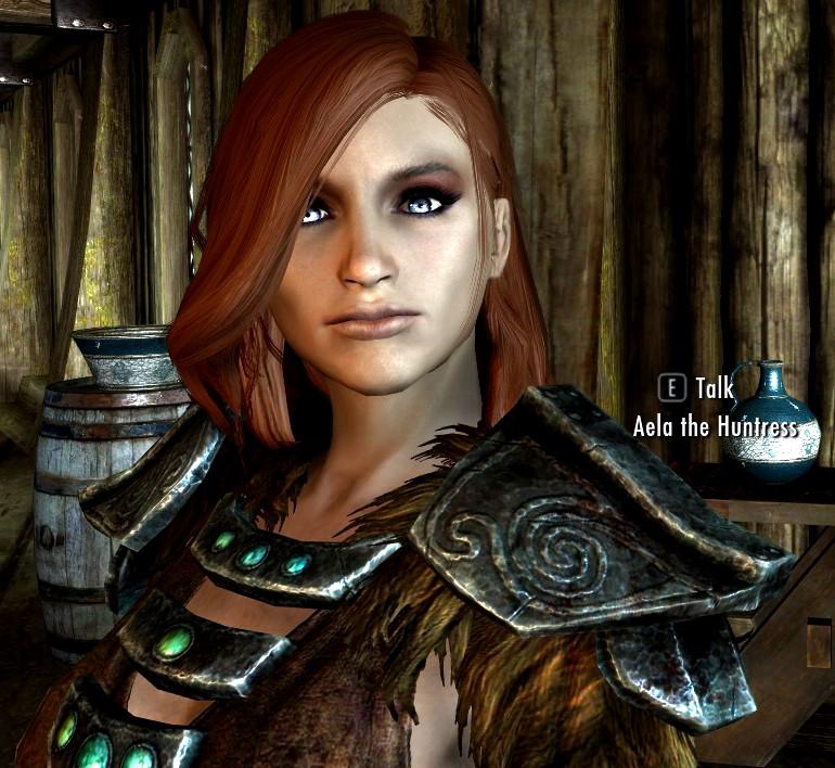 Aela the Huntress of Skyrim (Enhanced on GIMP) by ...