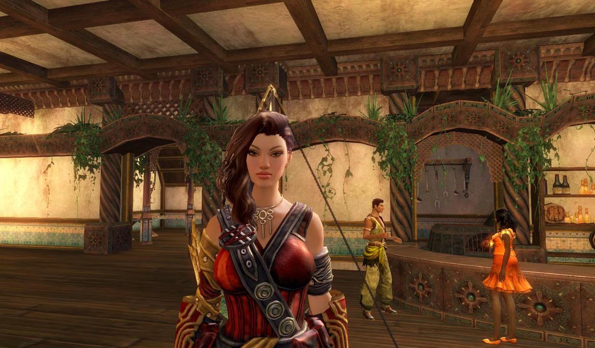 Kuvira Maseiou - Guild Wars 2 by TissTrinity