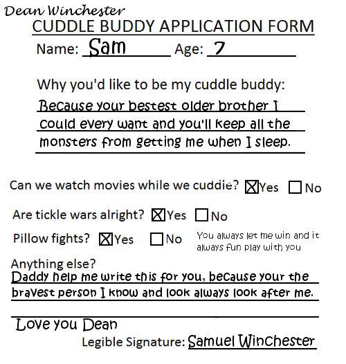 Boyfriend application form tumblr