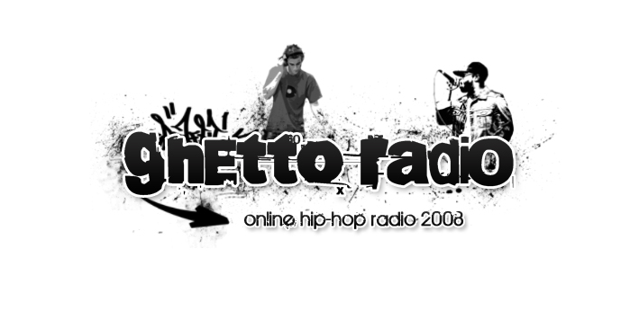 Ghetto Radio alternative logo by azdie