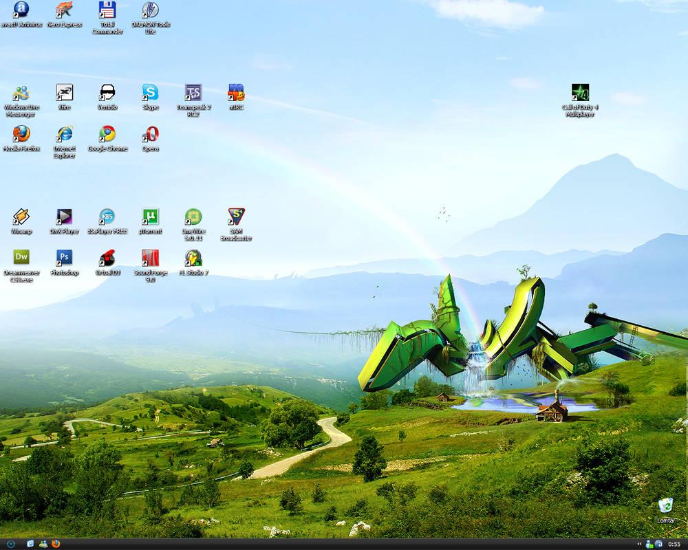 My Desktop at 09.09.09
